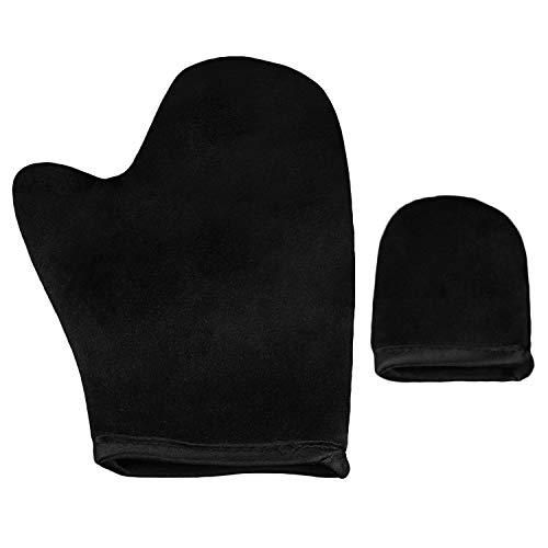 Applicateur à gants auto-bronzant Sunless avec gant de protection pour mini-doigt pour lot de mousse à pulvériser B Noir