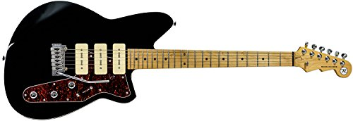 Reverend Jetstream 390 Electric Guitar (Midnight Black)