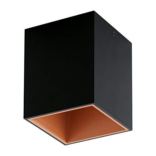 Eglo Lampe 94496 intérieur, intégré, argent
