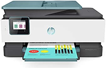 HP OfficeJet Pro 8035 All-in-One Wireless Printer - Includes 8 Months of Ink, HP Instant Ink, Works with Alexa - Oasis (3UC66A)