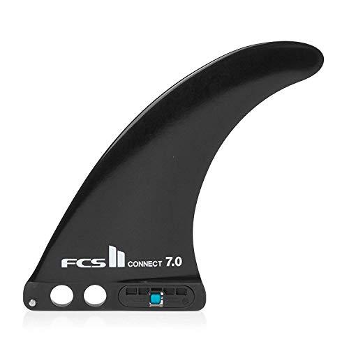 FCS II Connect GF Longboard Center Fin - 9 inch, Black