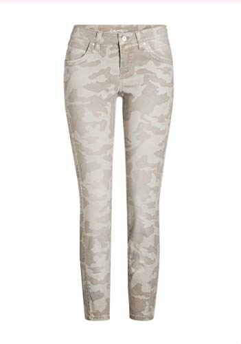 Cambio - Hose - Love - Camouflage - Sandfarben - FROGINLOVE (40)