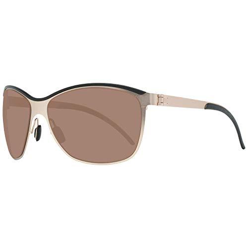 Mercedes-Benz Sonnenbrille M1047 Gafas de sol, Dorado (Gold), 61.0 para Hombre