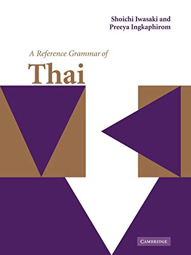 A Reference Grammar of Thai (Reference Grammars)