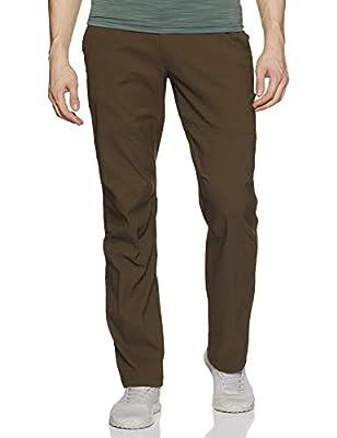 Columbia Men's Royce Peak II Hiking Pants, Water repellent, Stain Resistant, Olive Green, 44x28