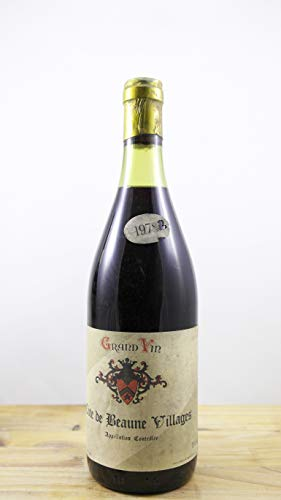 Wein Jahrgang 1978 Côtes de Beaune Villages Nolasque ELA Flasche