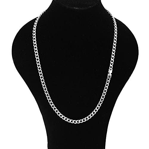 Collares Colgante Joyas Moda Collar De Hebilla De Acero Inoxidable Hombres Y Mujeres Pareja Viento Frío Hombres Y Mujeres Salvajes Collar Hat-01