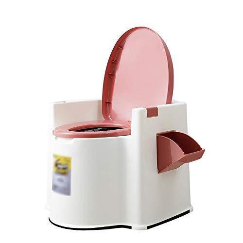 Byx Draagbaar toilet mobiele toilet-hoofddeodorant-toilet-molen met de armleuningen verwijderbare geduldige oude toiletstoel van de zwangere vrouwen draagbare toilet