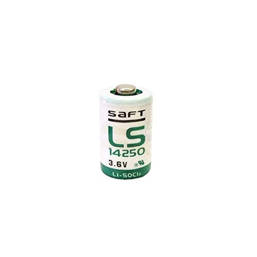 Pile LS14250 Lithium 3.6V 1/2AA Saft Made in France