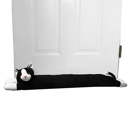 Evelots Cat Draft Stopper-Door/Window-36 Inch-Keep Heat In-No Cold Air/Noise