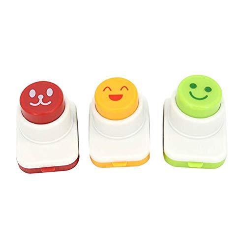 BESTonZON Präge Gerät Lächeln Gesicht Sushi Dekorieren 3 Stück