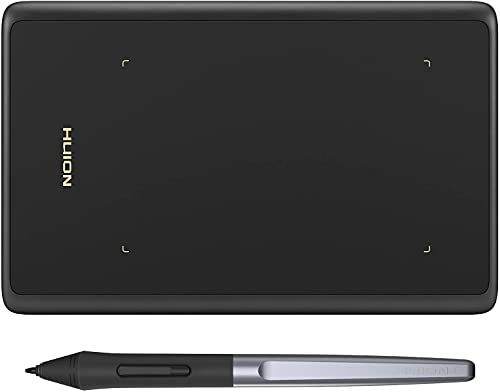 HUION Inspiroy H420X OSU Tabletas Gráficas, Lápiz óptico sin Batería de 8192 Niveles,Tableta de Dibujo de 4.17x2.6 Pulgadas Compatible con Chromebook / Windows /...