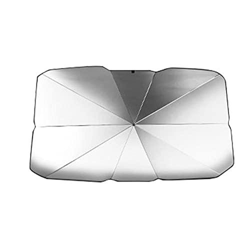 CksEKD Protector de Parasol de Coche, Parasol de Ventana Delantera, Cubre Accesorios de Parabrisas Interiores, para Toyota, para Renault