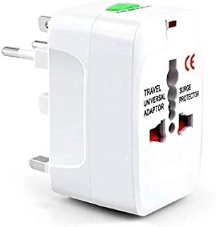 Universal Adaptor Worldwide Travel Charger Adapter Plug, All in One Power Outlet Wall Changer Adaptor International Europe...