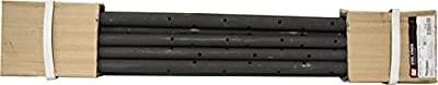"SRW Products Concrete Forming Round Steel Stakes with Holes 3/4"" X 24"" 10 Pack (10)"