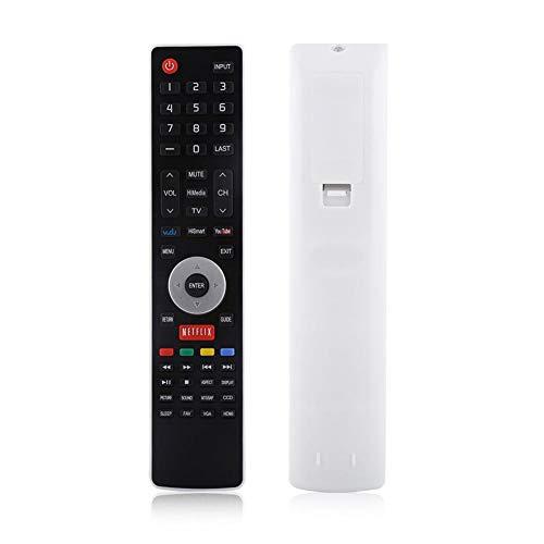 Zerone Mando a Distancia para televisor EN-33926A Mando para Hisense, Mando a Distancia Universal Apto para Hisense EN-33922A EN-33925A 32K366W 40K366W Televisor LCD