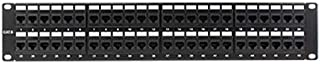 "Construct Pro 48-Port Cat6 Rack Mount Patch Panel (19"" / 2U 
