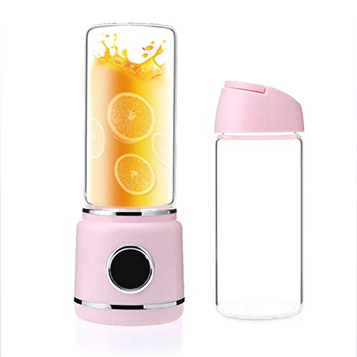 YAQISHUN Smoothie Maker, Staafmixer Elektrische oplading Sap Cup Mini Huis Kleine multifunctionele sap Cup Lade Schat, Pink