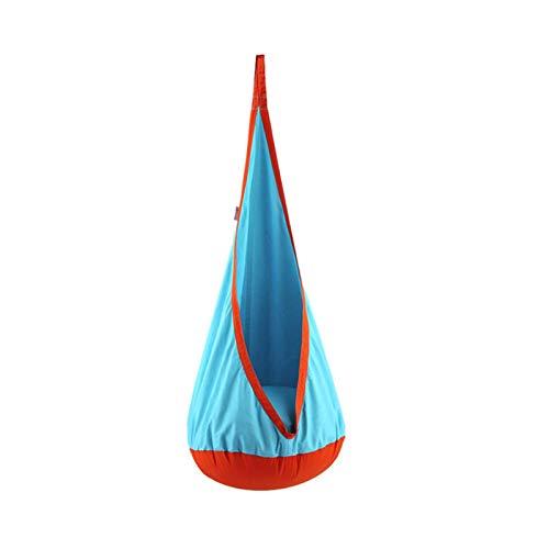 GeKLok Asiento de columpio para niños, hamaca para uso interior y exterior, 150 x 70 cm