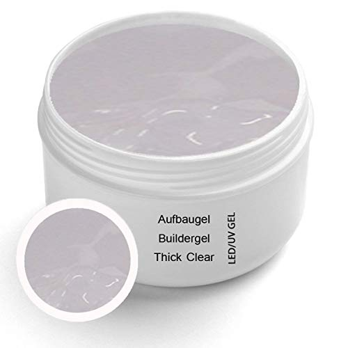 UV Thick Clear Builder Gel Premium 50 ml - Builder Gel Clear gel ongles gel ongles