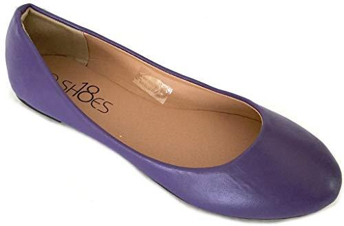 Top 10 best selling list for dark purple flat wedding shoes
