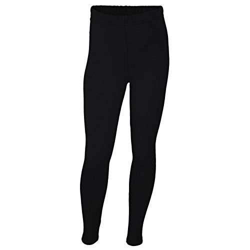 TupTam Mädchen Leggings Lang Blickdicht Baumwolle , Farbe: Schwarz, Größe: 140