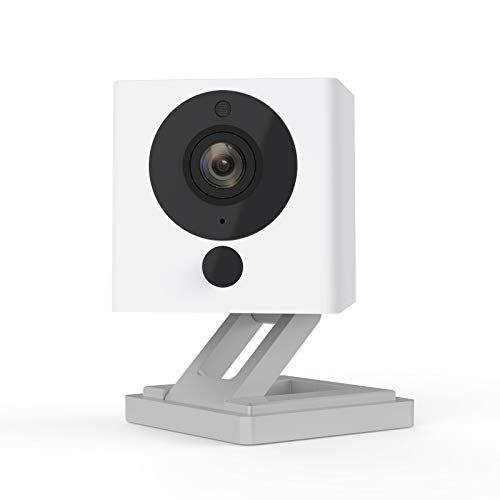 Wyze Cam v2 1080p HD Indoor WiFi Smart Home Camera with Night Vision, 2-Way Audio, Works with Alexa & the Google Assistant, White, 1-Pack