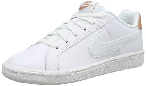 Nike Damen WMNS Court Royale Gymnastikschuhe, Mehrfarbig (White/White/Rose Gold 116), 36.5 EU