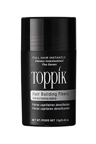 TOPPIK Hair Building Fibers Gray, 1er Pack (1 x 12 g)