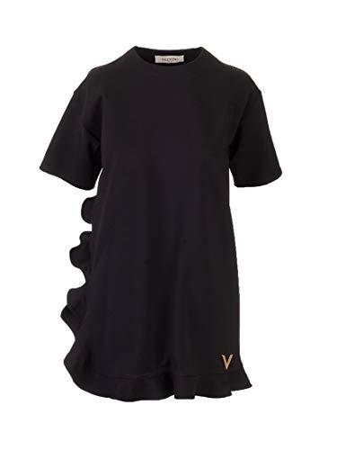 Valentino Luxury Fashion Damen TB3MJ01N58H0NO Schwarz Kleid |