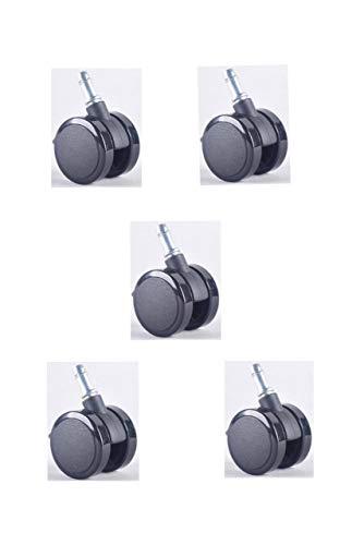 MOOJIRS Ergonomischer Bürostuhl gegen Rückenschmerzen | Mit integrierter Lordosenstütze | Zusätzliche Kopfstütze gegen Nackenschmerzen
