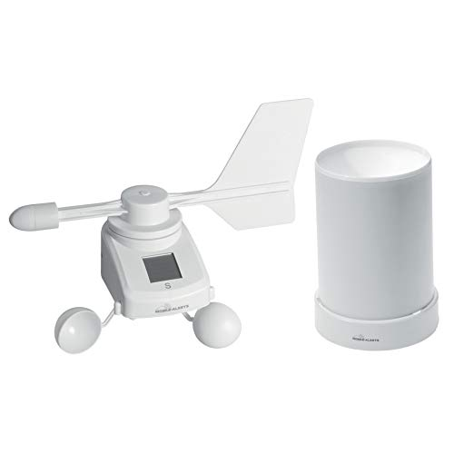 ELV Mobile Alerts Spar-Set: Windmesser MA10660PRO, mit Solarpanel und Regensensor MA10650PRO