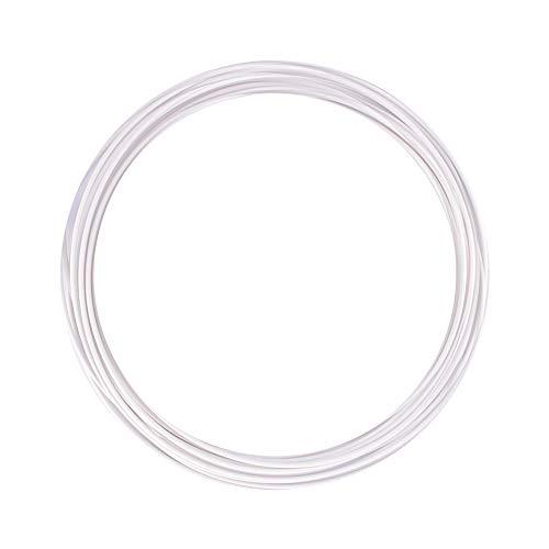 eSUN Muestra de Filamento ABS+ 1.75mm, Filamento ABS Plus para Impresora 3D, 10 Metros (32.8 Pies) Rollo Filamento de Impresión 3D, Blanco Frio