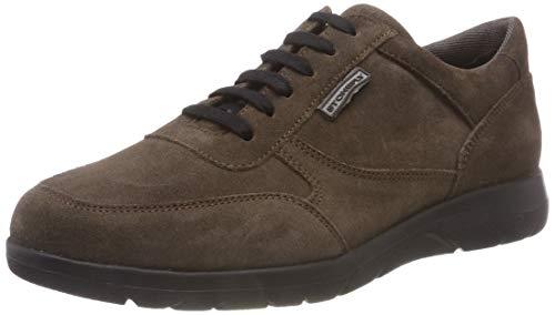 Stonefly Space Man 3 Velour, Zapatos de Cordones Oxford para Hombre, Marrón (Teak Brown M29), 45 EU