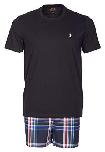 Polo Ralph Lauren Herren kurzer Schlafanzug Shorty T-Shirt und Web-Boxer Geschenkbox XL Multi (001)