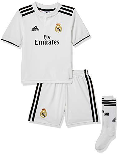 adidas 18/19 Real Madrid Home Minikit - Conjunto Unisex niños