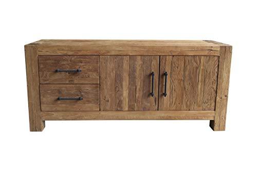 Sit Möbel Banda Lowboard recyceltes Teak L = 160 x B = 50 x H = 70 cm Natur