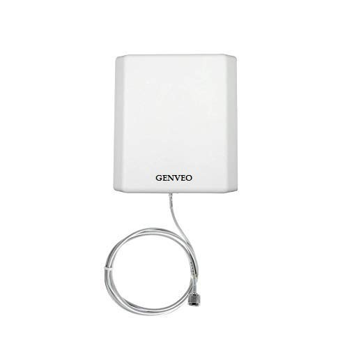 Genveo GSM Antenna for Ichiban CCNJTG21G001 Dual SIM GSM Fixed Wireless landline Phone/GSM FWP Sim Type Phone (Colour - White or Black-Random Colour)