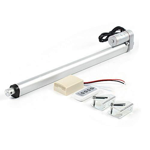1500N Linear Actuator accionamiento motor lineal 12V accionamiento lineal motor de 300 mm