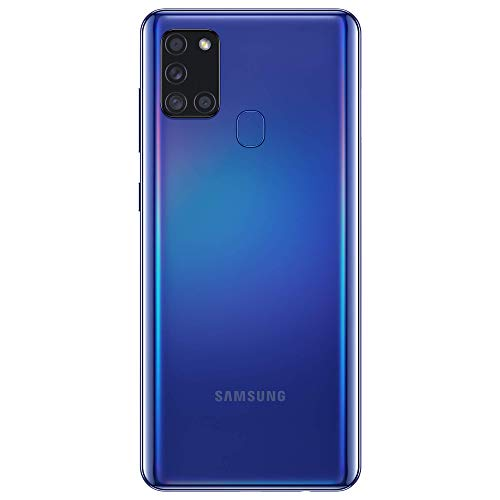 Samsung Galaxy A21s Android Smartphone, SIM Free Mobile Phone, Blue (UK Version) Mobile Phones & Smartphones Mobile Phones & Communication