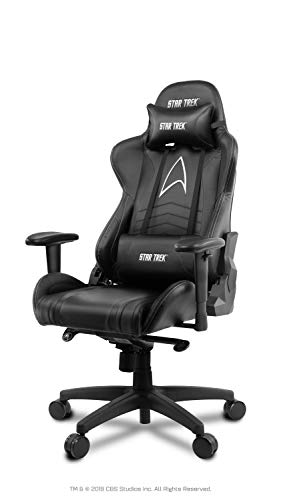 *Arozzi Gaming Stuhl – Star Trek Edition – Schwarz*