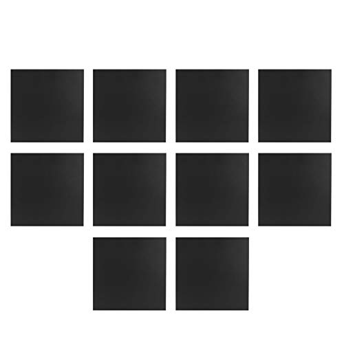 Etiqueta engomada de la pared Etiqueta engomada impermeable del piso Etiqueta engomada de los azulejos 10Pcs / Set Fácil de quitar Etiqueta de la pared Decoración de la pared(DTS03)