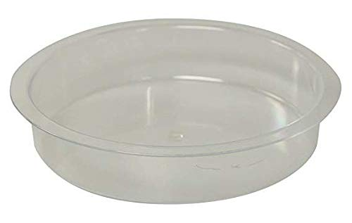 Unibos Market Wild Bird Water Dish Replacement for Feeding Station Clear