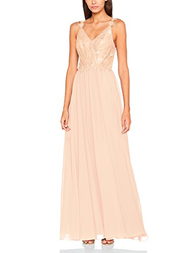 Laona Damen Evening Dress LA42009L Partykleid, Rosa (Rose Blush 3045), 36 (Herstellergröße: S)