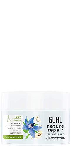 Guhl Nature Repair Kur - Inhalt: 250ml - Für beanspruchtes und strapaziertes Haar - Mit Bio-Borretschöl