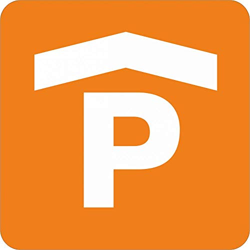 Schild: Piktogramm Parkhaus - Aluverbundschild 200 x 200 mm