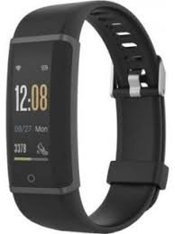 Lenovo Spectra HXxxF Smart Fitness Band Colorfull Display (Black)