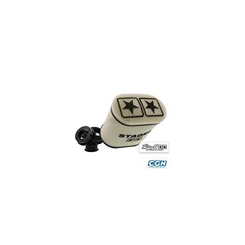 Racingluftfilter Stage6 Double-Layer Gross, AirBox Weiss, 28mm + 35mm + 42mm + 45mm + 49mm + 55mm Anschluss