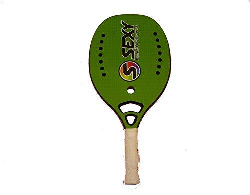 Tom Caruso Racchetta Beach Tennis Racket Sexy Beach Hex Green 2018