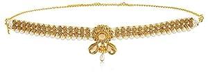 Sanjog Embellished Gold Plated Kamarband Belly Chains for Women…